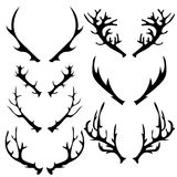 Different Horns Royalty Free Stock Photos