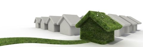 Different house Stock Photography
