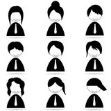 Different human icons Royalty Free Stock Photo