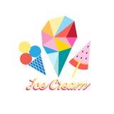 Different ice cream Royalty Free Stock Photo