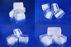 Different Ice Cubes Royalty Free Stock Photo