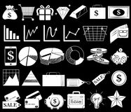 Different icons Royalty Free Stock Image