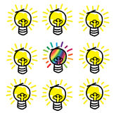 Different idea concept Royalty Free Stock Image