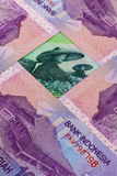 Different Indonesian rupiah banknotes Royalty Free Stock Image