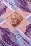 Different Indonesian rupiah banknotes Stock Images