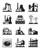 Different industrial construction Stock Photography