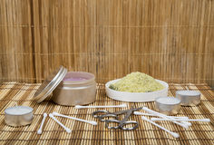 Different items for Spa Royalty Free Stock Image