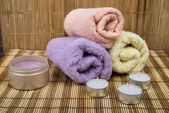 Different items for Spa Royalty Free Stock Images