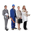 Different jobs Stock Images