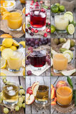 Different Juices Stock Photography