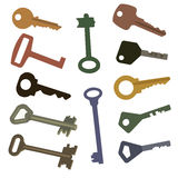 Different keys Royalty Free Stock Photos