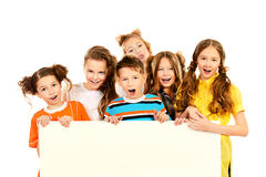 Different kids Stock Image
