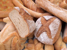 Different kind of bread Royalty Free Stock Photo