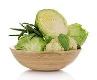 Different kind of cabbage Royalty Free Stock Photography
