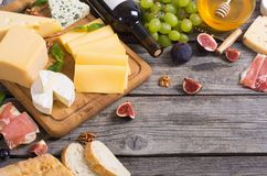 Different kind of cheese Royalty Free Stock Photography
