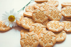 Different kind of cookies Royalty Free Stock Images