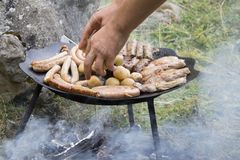 BBQ concept. Royalty Free Stock Image
