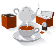 Different kind of tea Royalty Free Stock Image