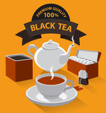 Different kind of tea Royalty Free Stock Photography