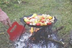 BBQ concept. Royalty Free Stock Images