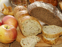 Different kinds of bread Royalty Free Stock Image