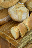 Different kinds of bread Stock Photography