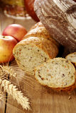 Different kinds of bread Royalty Free Stock Photography
