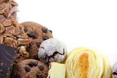 Different kinds of Cookies Royalty Free Stock Images