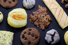 Different kinds of Cookies Royalty Free Stock Photography