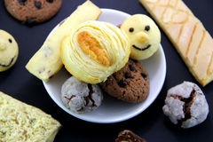 Different kinds of Cookies Royalty Free Stock Photo