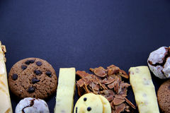 Different kinds of Cookies Stock Images