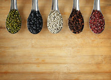 Different kinds of Grains Stock Image