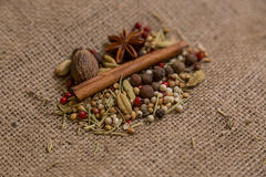 Different kinds of ingredients Royalty Free Stock Photography