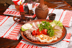 Different kinds of meat Stock Photography