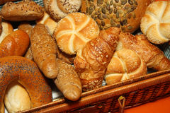 Different Kinds Of Bread Stock Photo