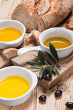 Different Kinds Of Olive Oil Stock Photos