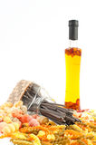 Different kinds of pasta Stock Photography
