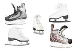 Different kinds of skates Stock Image