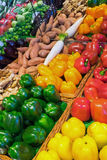 Different kinds of sweet pepper Royalty Free Stock Photos