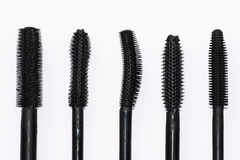 Different kinds of tassels mascara, Stock Images