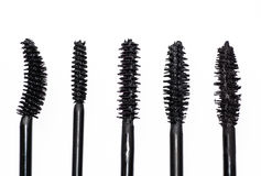 Different kinds of tassels mascara, Royalty Free Stock Images