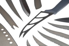 Different Knifes Royalty Free Stock Photo