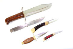 Different Knives Royalty Free Stock Photography