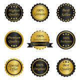 Different labels Royalty Free Stock Photography