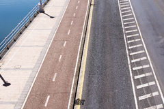 Different lanes on city Royalty Free Stock Photos