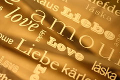 Different languages Stock Images