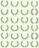 Different laurel wreaths Stock Image