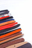 Different leather belt Royalty Free Stock Photography