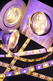 Different LEDs Stock Photo