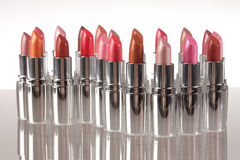 Different Lipstick Royalty Free Stock Images
